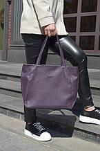 "Стильная сумка ""Ashley New"" - №10 - DARK ORCHID   - цвет темно-фиолетовый"
