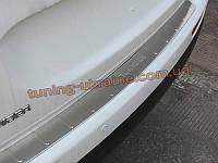 Накладка на задний бампер Mitsubishi Outlander 2014+