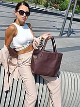 """Стильная сумка """"Ashley New"""" - № 8 - TAUPE    - цвет темно-коричневый"""