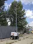 Компанія Unisol поставила освітлювальну щоглу Luxtower  LUXM12 з дизельним генератором, виробництва (Італія)