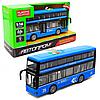 Машинка игрушечная «Городской автобус» Автопром, синий, от 3 лет, 27*12*7, (7953AB)