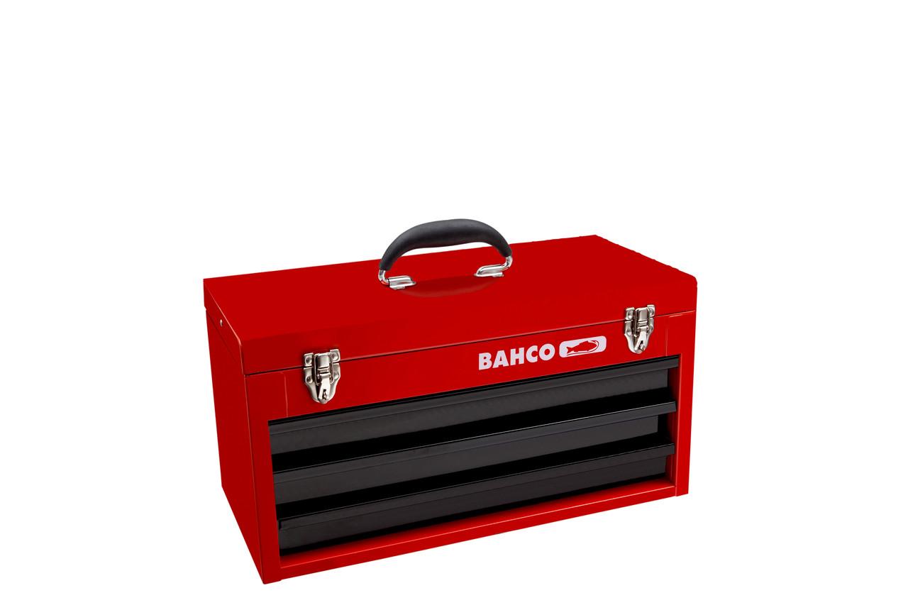 Металлический ящик для инструмента, Bahco, 1483K3RB