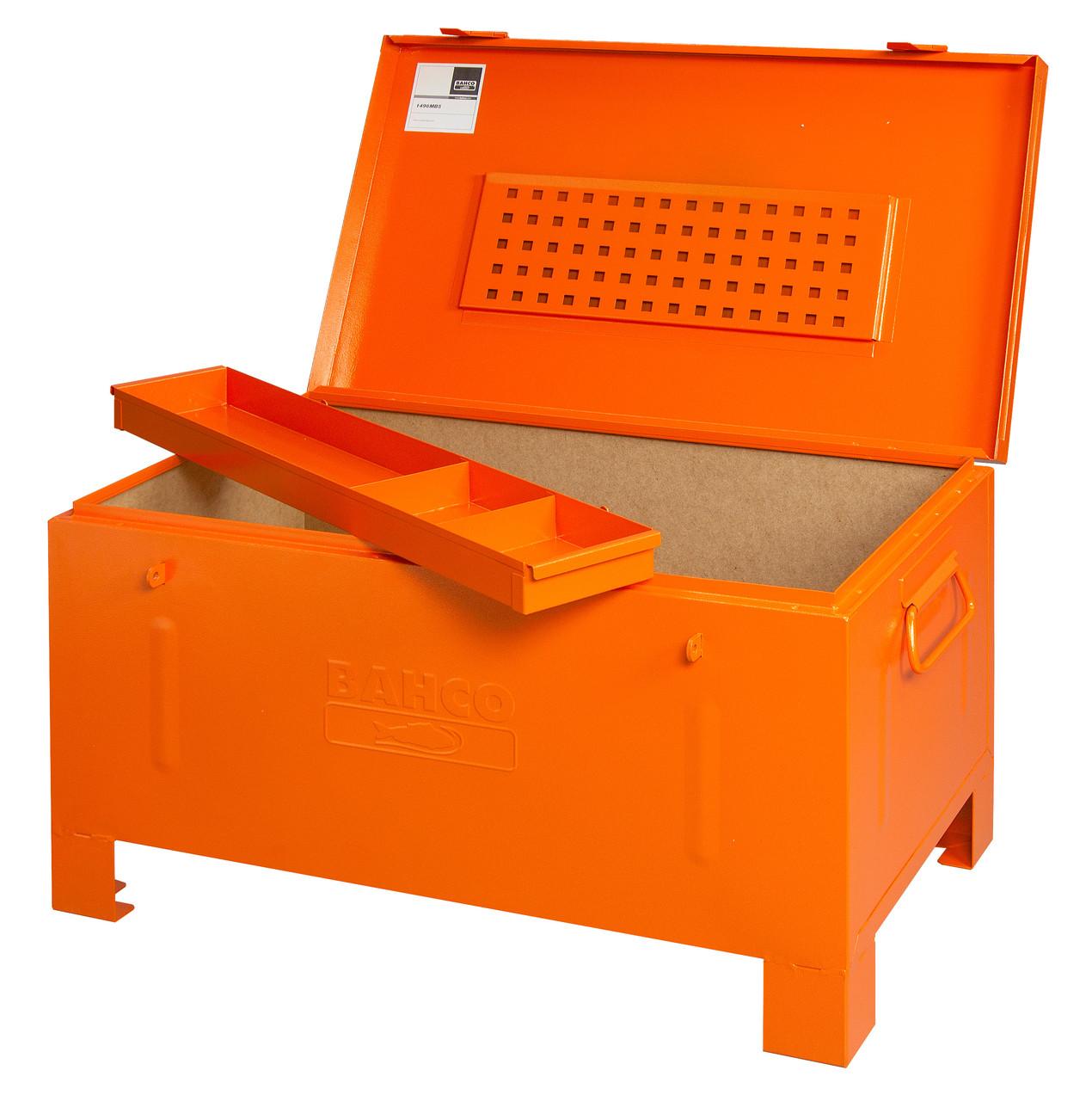 Металеві коробки, Mason box 910x530x430mm, Bahco, 1496MB5
