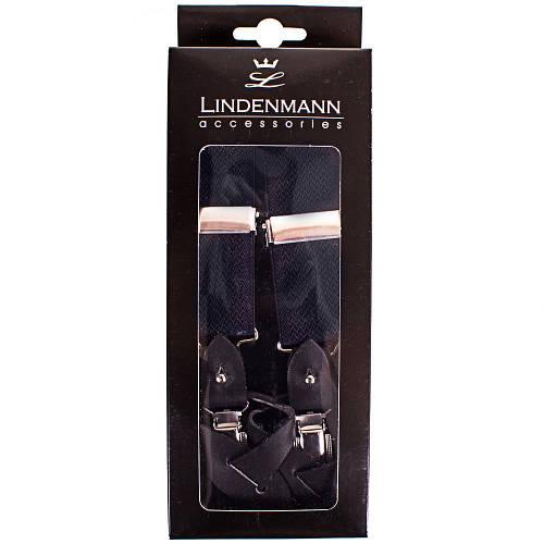 Оригинальные мужские подтяжки LINDENMANN Артикул: FARE8111-040 синий