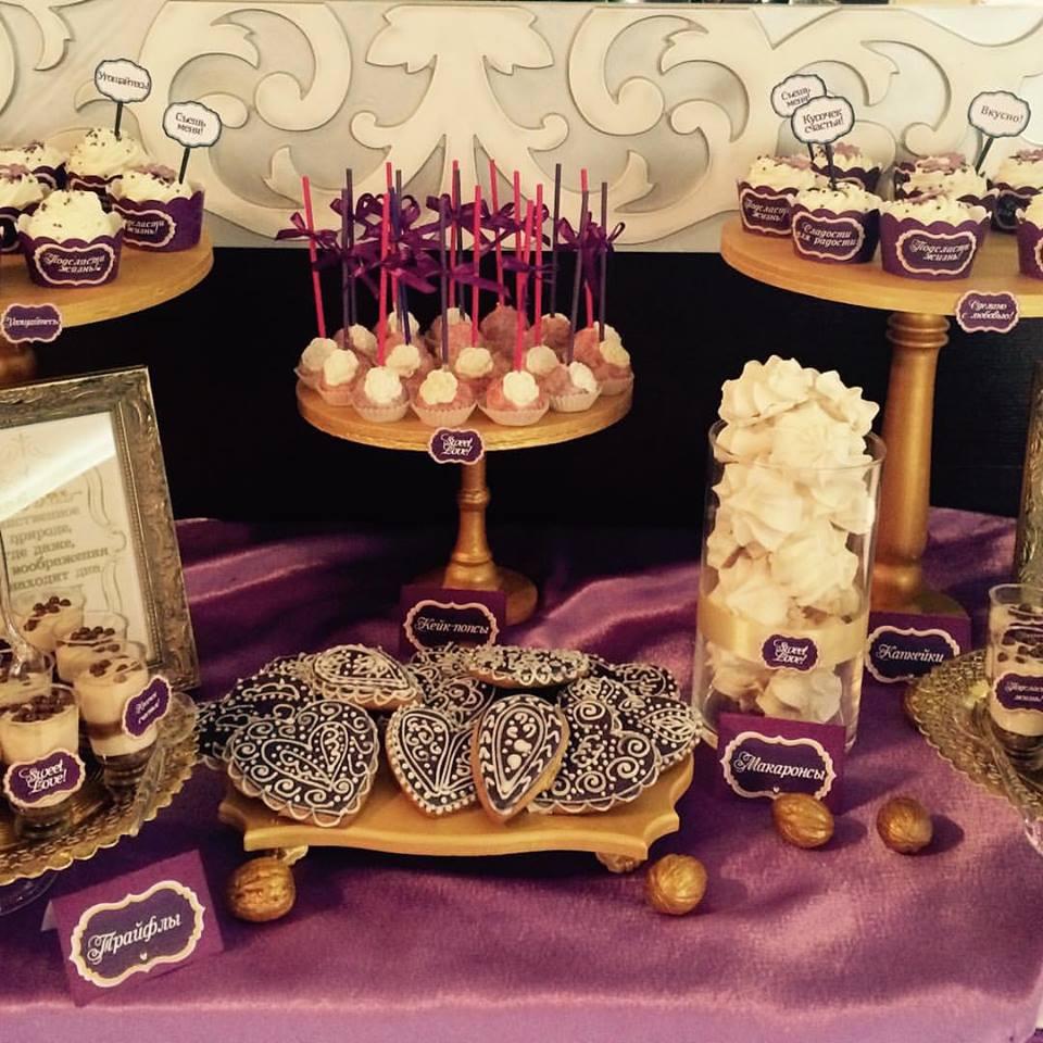 Кэнди бар свадебный(Candy bar) восточном стиле