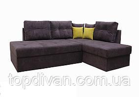 "Угловой диван ""Сандро+"" (ткань 36) Габариты: 2,25 х 1,70  Спальное место: 2,05 х 1,45"