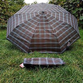 Зонт женский Коричневый, клеточка арт.308P-1