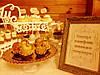 Кэнди бар свадебный (Candy bar) в бежево-золотых тонах, фото 2