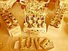 Кэнди бар свадебный (Candy bar) в бежево-золотых тонах, фото 3