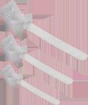 Кабельная стяжка многоразовая 7,2*400