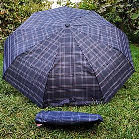 Зонт женский Темно-коричневый , клеточка арт.308P-5