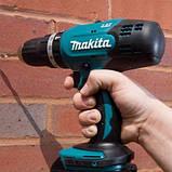 Акумуляторний ударний шурупокрут MAKITA DHP453RFX8, фото 5