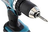 Акумуляторний ударний шурупокрут MAKITA DHP453RFX8, фото 4
