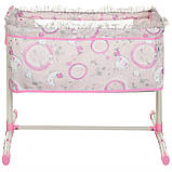 Игрушечная кроватка манеж для куклы DeCuevas 51234 кроватка для ляльки розовая, фото 6