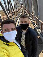 Маски захисні за Собівартістю виробництва Багаторазові, маска на 2 шарі, фото 5