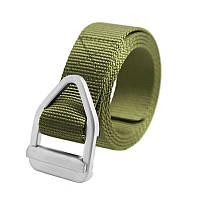 Ремень тактический Han-Wild Latch Green нейлоновый с металлической пряжкой (4877-14429)