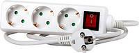 Подовжувач e.es.4.5.z.s.b 4 гнізда, 5м, з з/к, з вимикачем, baby protect