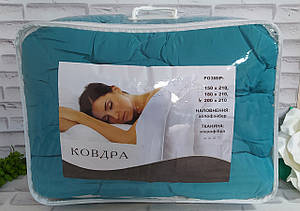 Одеяло евро размер наполнение - холлофайбер, ткань - микрофибра в подарочной сумке О-901