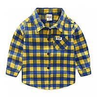 Детская рубашка 116, 122