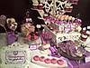 Кенди бар свадебный (Candy bar) в фиалковом цвете, фото 3
