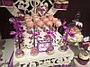 Кенди бар свадебный (Candy bar) в фиалковом цвете, фото 7