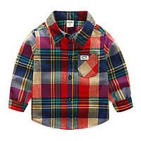 Детская рубашка 110, 116