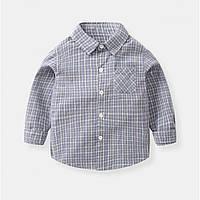 Детская рубашка 110, 116, 122, 128