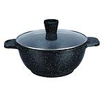 Кастрюля казан с крышкой Edenberg EB-3953 4,6 л 24 см алюминий с мраморным покрытием, фото 2
