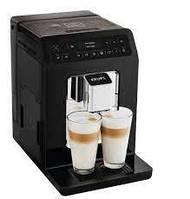Кавоварка KRUPS EA890810 автоматична кавоварка на 2 порції чорна 15 бар ОРИГІНАЛ