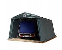 Тентовый гараж  ПВХ 3.3mx 4,8m Зеленый