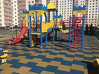 Покрытие для детских площадок - ТРАВМОБЕЗОПАСНАЯ РЕЗИНОВАЯ ПЛИТКА