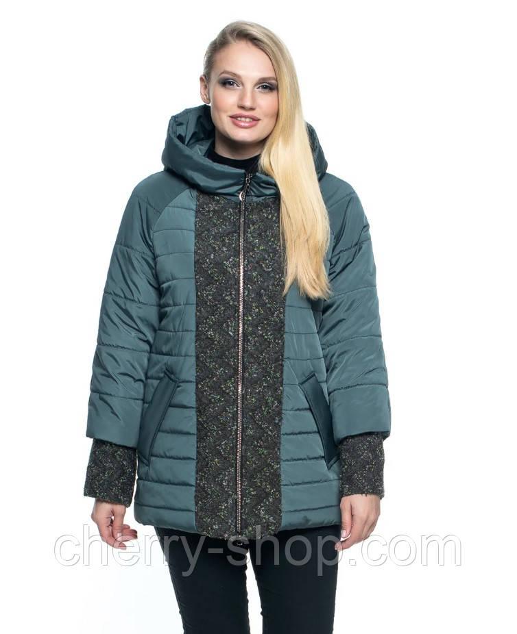 Стильная демисезонная куртка новая коллекция , куртка в цвете марсал