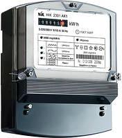 Лічильник трифазний з ж/к екраном НІК 2303 АК1 1100 MC, комбінованого включення 5(10) А, з захистом від магнітних та радіозавад.
