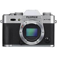 Фотоаппарат Fujifilm X-T10 body silver