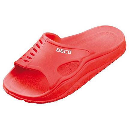 Детские тапочки BECO красный 9241, фото 2