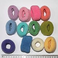 Резинка Калуш большая 12 шт. пастельных цветов