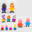 Свинка Пеппа герои Pig Peppa вся семья 12 в 1 с аксессуарами, фото 3