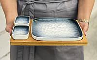 """Тарелка для суши """"Едо"""" 29х23 см"""