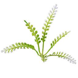 Добавка корона біло-зелена 6 пластик, 10см ( 100 шт. в уп.)