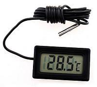Мини термометр YK-10 с выносным датчиком до.+110 °C