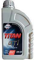Синтетическое моторное масло TITAN(титан) GT1 PRO C-4 SAE 5W-30 1л.