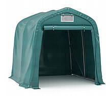 Тентовый гараж ПВХ для техники  2,4 x 2,4m Зеленый