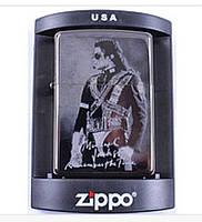 Зажигалка бензиновая Zippo Майкл Джексон