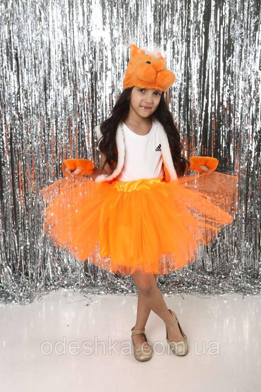 Дитячий карнавальний костюм Білочки