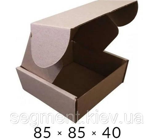 Самосборная картонная коробка - 85 × 85 × 40 на 0,1 кг