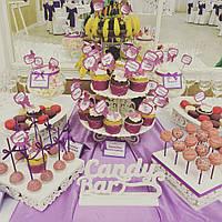 Кенди бар свадебный (Candy bar) сереневый, фото 1
