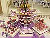 Кенди бар свадебный (Candy bar) сереневый, фото 2