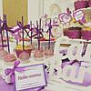 Кенди бар свадебный (Candy bar) сереневый, фото 6