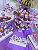 Кенди бар свадебный (Candy bar) сереневый, фото 8