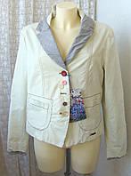 Жакет женский модный демисезонный куртка бренд Desigual р.52 5075